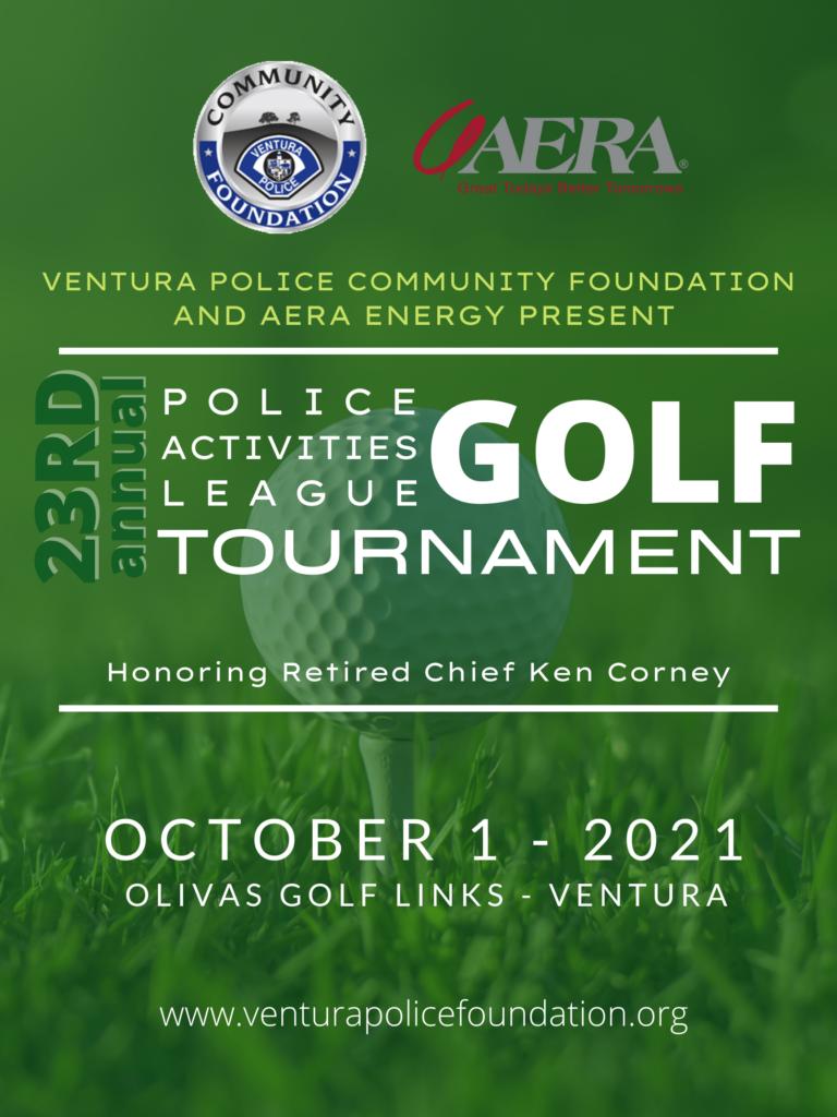 PAL Golf Tournament Poster